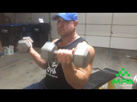 Train your Biceps with Matt Porter: Exercise 1