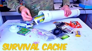 PVC Survival Time Capsule - Survival Hack