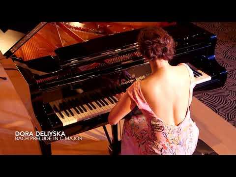 Bach Prelude in C Major by Concert Pianist Dora Deliyska