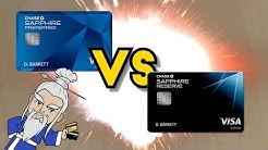 Sapphire Preferred VS Sapphire Reserve: Battle of the Chase Cards