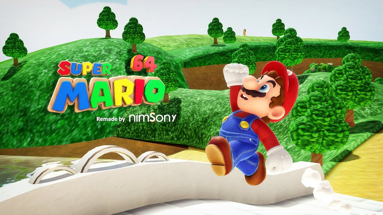 FAN MADE - Super Mario 64 Reimagined by NimsoNy - Character mechanics /  Tech demo *DOWNLOAD*