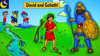 Bible Stories for Kids David and Goliath Paw Patrol Toys Story Video Growing Little Ones for Jesus