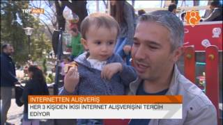 Türkiye'nin İnternetten Alışveriş Tablosu - Halka Sorduk - TRT Avaz Haber