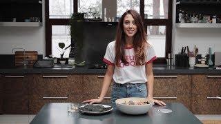 Рецепт салата с рисовой лапшой / Яна Стрельцова для #MilkTalks