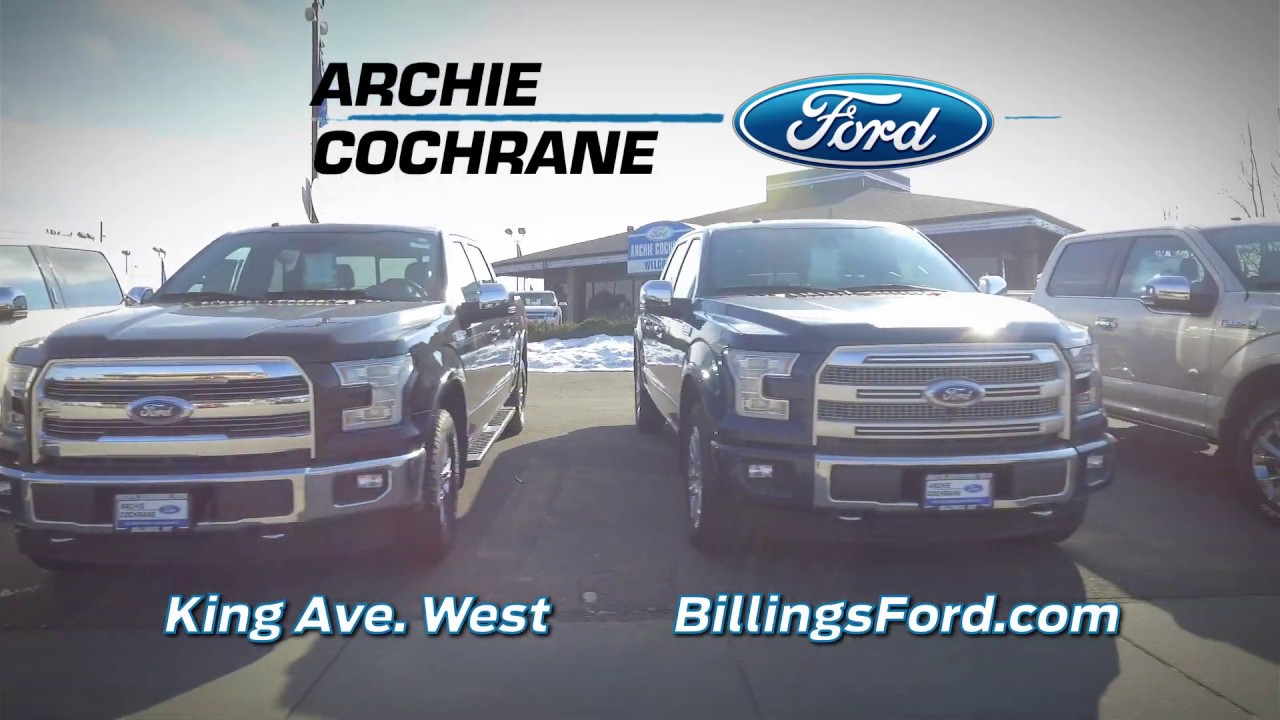 Archie Cochrane Ford >> Archie Cochrane Ford Has A Pre Owned Vehicle For Everyone