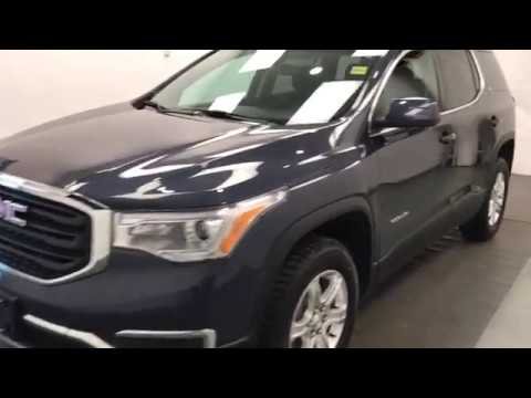 Stock 204909 Blue 2018 GMC Acadia  Review lethbridge ab - Davis GMC Buick Lethbridge Appraisal Grid