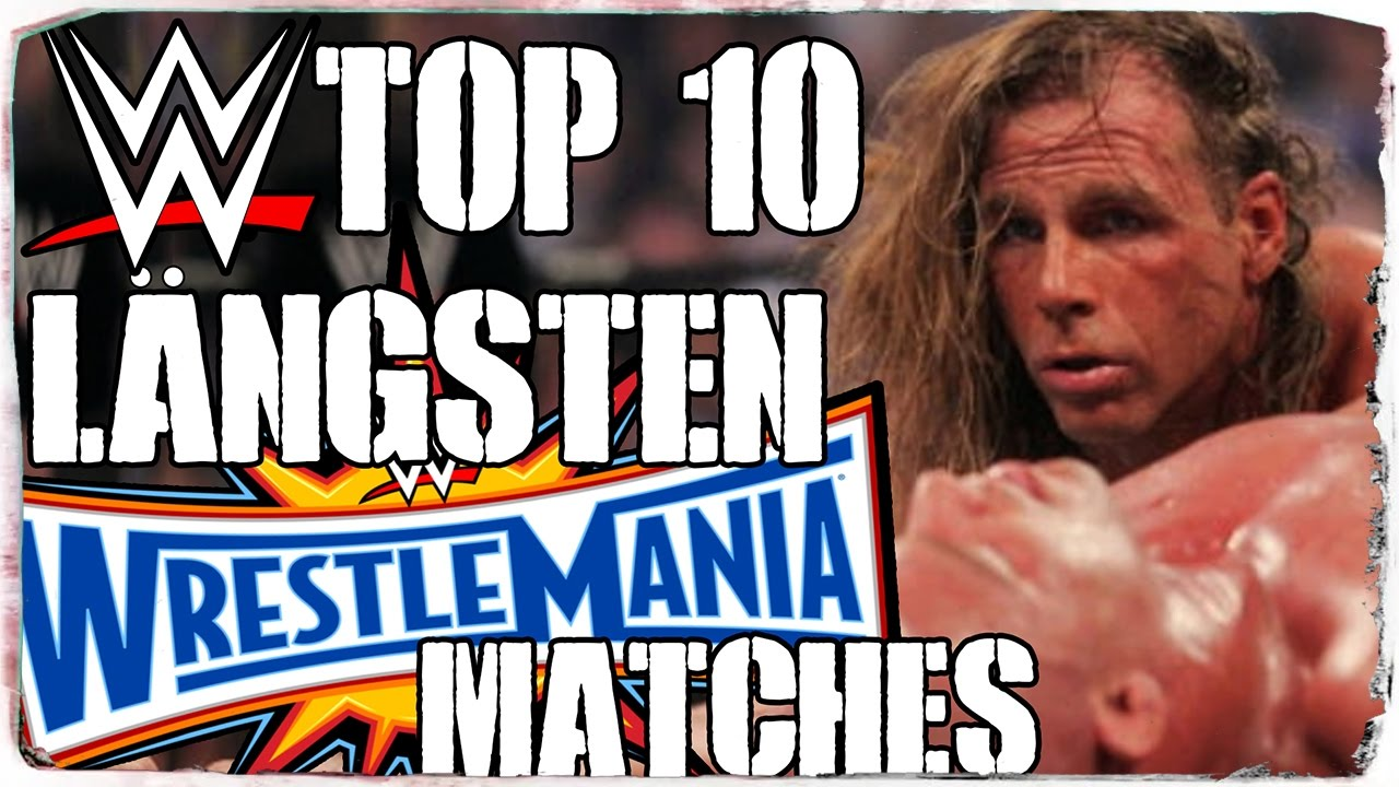 top 10 der l ngsten wrestlemania matches deutsch german youtube. Black Bedroom Furniture Sets. Home Design Ideas