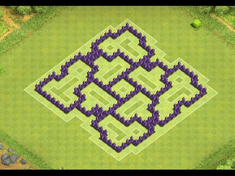 clash of clans townhall lvl 7 farming base   youtube