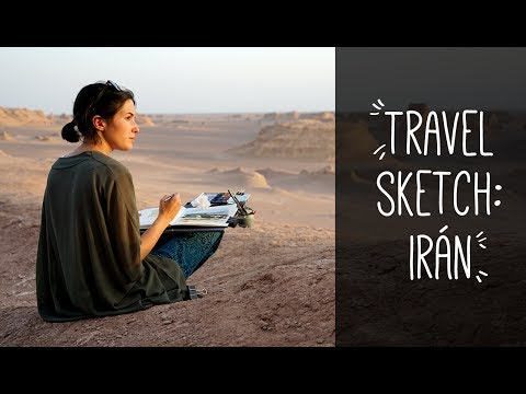 Travel Sketch: Iran