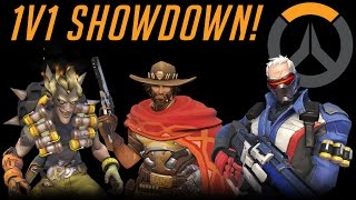 Overwatch - 1v1 Showdown With Solidarity - Part 1