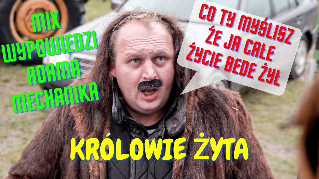 Mix Wypowiedzi Adama Mechanika Sezon 1 I KRÓLOWIE ŻYTA I Kabaret Malina