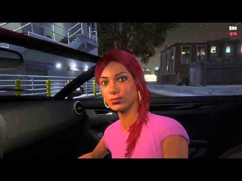 Снять ШЛЮХУ от первого лица! (GTA 5)