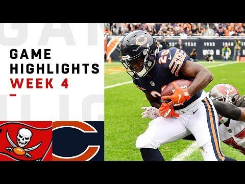 Buccaneers vs. Bears Week 4 Highlights | NFL 2018