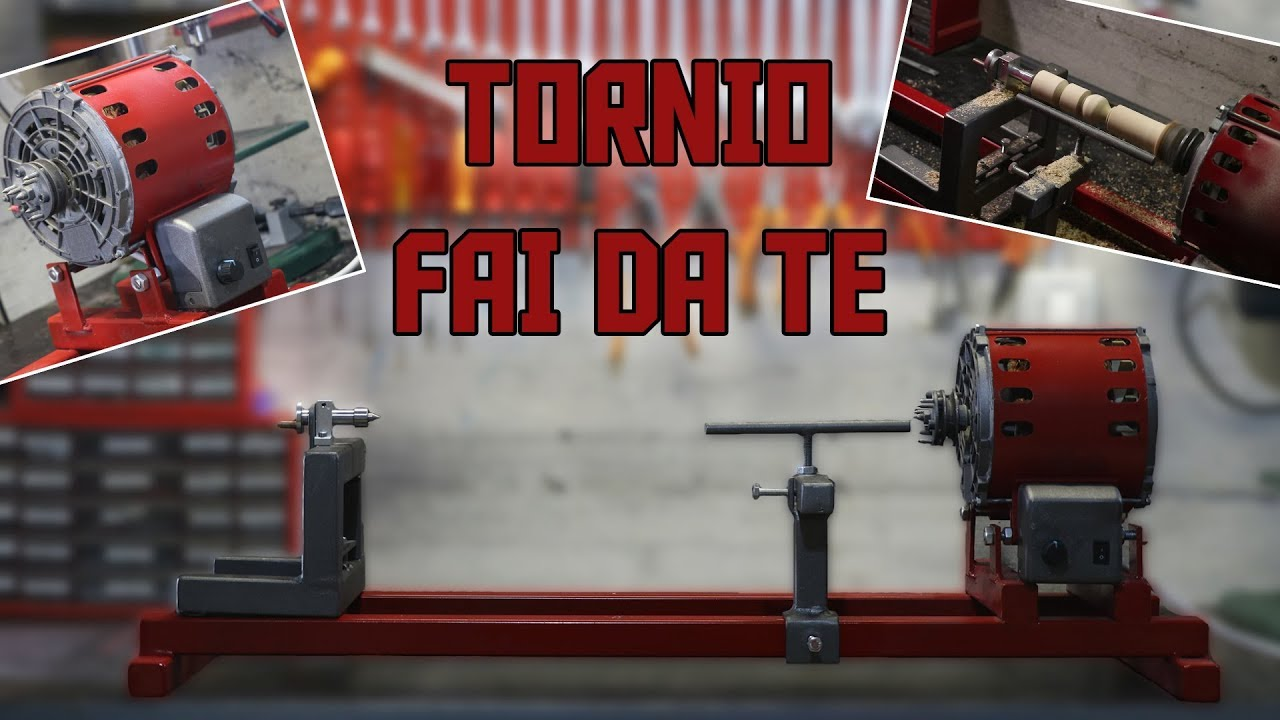 Tornio per legno fai da te youtube for Youtube tornio