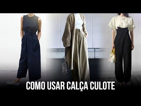 COMO USAR CALÇA LARGA (CULOTE)