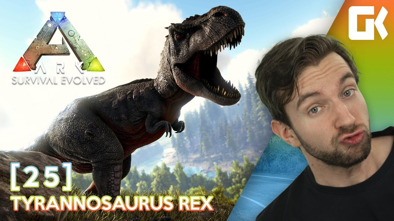 TYRANNOSAURUS REX! | Ark Survival Evolved #25