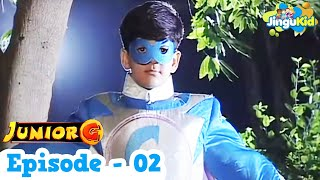 Junior G- Episode 2 In Hindi | Tv Serial For Kids | Popular Indian SuperHero Show For Childrens