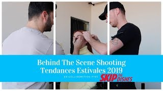 BEHIND THE SCENE SHOOTING PHOTO TENDANCES ESTIVALES 2019