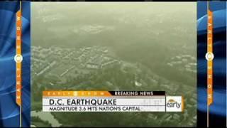 Earthquake Hits Washington, D.C.