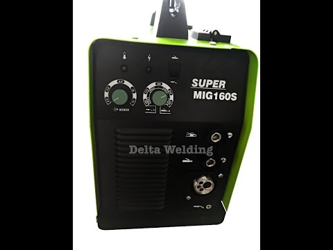 Delta Welding Malaysia  MIG Gasless Portable Masterweld 160