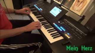 Repeat youtube video Mein Herz (...es brennt) - Tyros 4