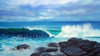 Oil Paintings - Seascapes by Australian Artist G.Purcell