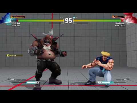 STREET FIGHTER V Casual – DeeDogg vs Pie_sci