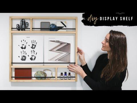 DIY Easy Metal and Wood Shelf & Holiday Giveaway