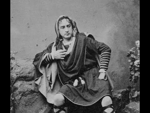 3D Stereoscopic Photos of Stage Actors Edwin Booth and Junius Booth (1860-1870)