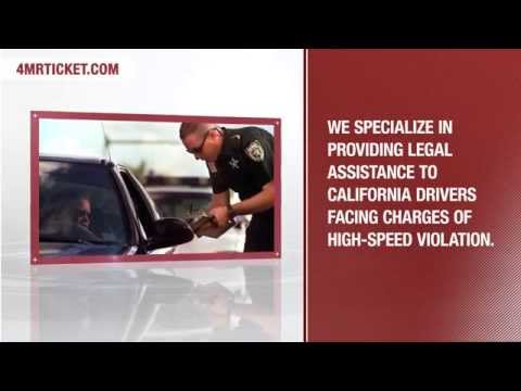 4 Mr. Ticket | Legal Assistance for High-Speed Violation
