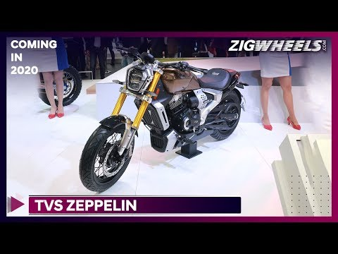TVS Zeppelin | When will it launch in India? | Auto Expo 2020