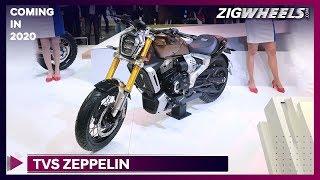 TVS Zeppelin | When will it launch in India? | Auto Expo 2020 | ZigWheels