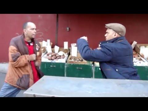 A Fight On MelroSe Ave Bronx Ny