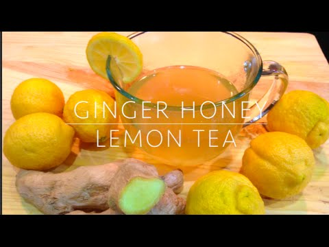 GINGER HONEY LEMON TEA - WEIGHT LOSS