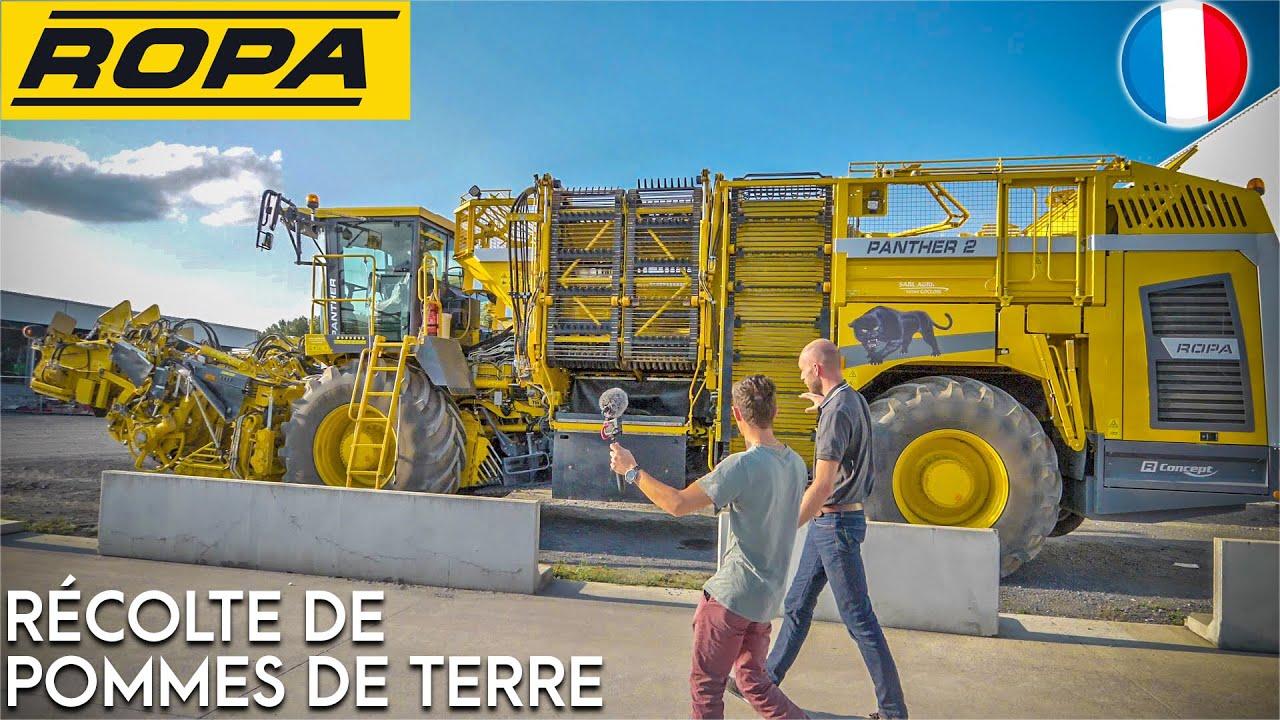 Download 1 Journée chez ROPA FRANCE ! Récolte de Pommes de Terre !