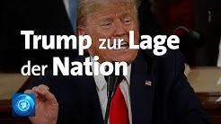 US-Präsident Trump lobt eigene Politik bei Rede zur Lage der Nation (State of the Union)