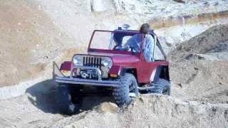 5 year old boy drives off road car for children