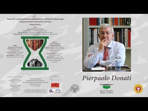 Pierpaolo Donati: An Introduction to Relational Realism