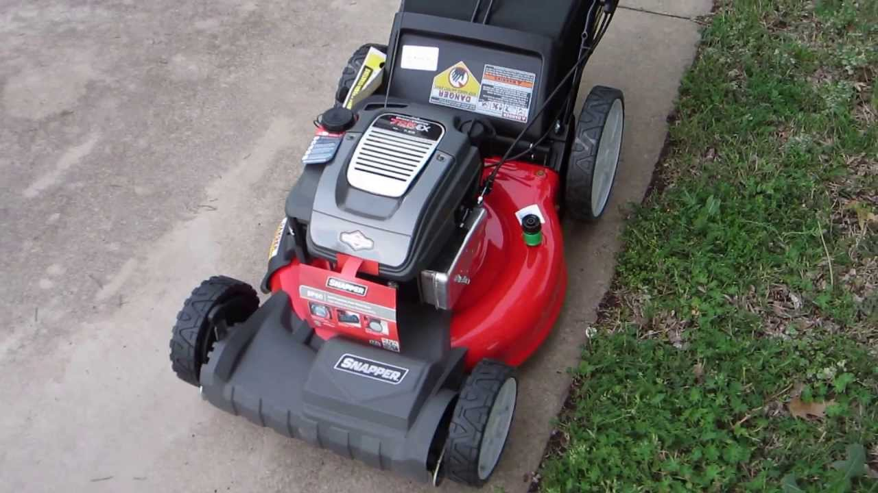 Snapper Sp80 21 Inch Self Propelled Mower Youtube