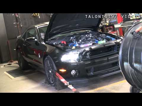 717whp '13 GT500 Bolt Ons Dyno