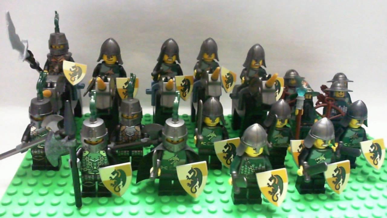 My Lego Castle Kingdoms Dragon Knight Army as of March 4 2011