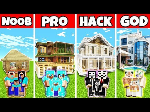 minecraft:-family-luxury-mansion-house-build-challenge---noob-vs-pro-vs-hacker-vs-god-in-minecraft