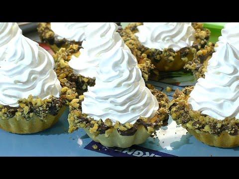 Песочные корзинки на желтках Рецепт песочных корзинок  Recipe For Shortbreads