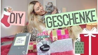 Schnelle DIY Geschenkideen! + VERLOSUNG! ▹XMASwithAnna ❅
