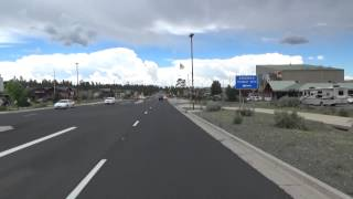 Downtown Tusayan, Arizona Drive Through