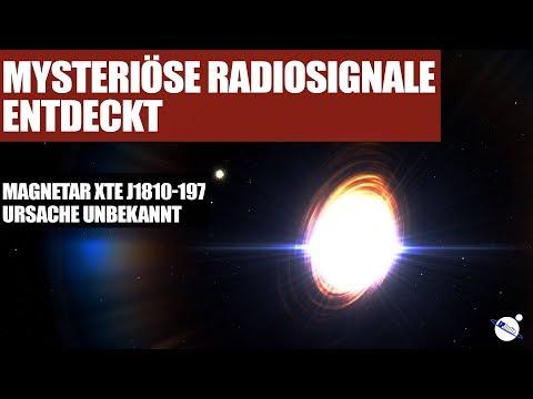 Mysteriöse Radiosignale entdeckt - Magnetar XTE J1810-197 - Ursache unbekannt