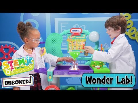 Unboxed! | STEM Jr. by Little Tikes | Episode 1: Wonder Lab | Ultimate STEM Lab for Kids