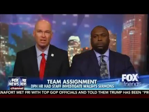 Dr. Eric Walsh Fired for Sermons Speaks to Fox & Friends