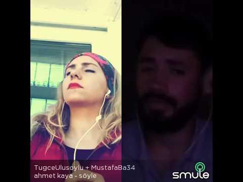 Ahmet Kaya söyle düet Mustafa Baş Tuğçe Ulusoy