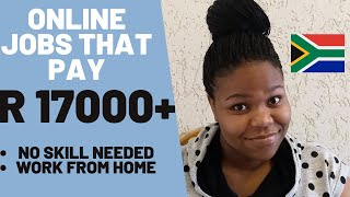 How To Make Moฑey Online In South Africa | No Qualification | No Skill Needed | High Paying Jobs